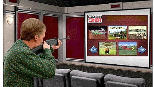 Laser Shot Shooting Simulator