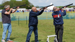 Mobile Laser Clay Shoot hire
