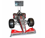 three quater size F1 simulator